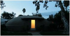 Airform Bubble House in Pasadena by architect Wallace Neff