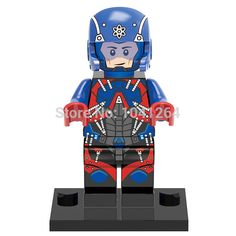 Single Sale XINH 291 DC Atom Minifigures Building Blocks Superheroes Models Figures Toys Best Children Gift