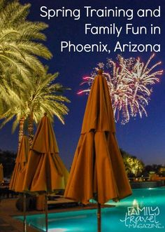 Things to do during a spring training trip to Phoenix Arizona with kids.