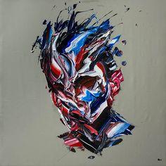 The Generous Brushstrokes of Iranian Painter Salman Khoshroo Art Inspo, Painting Inspiration, Abstract Portrait, Portrait Art, World Famous Paintings, Modern Art, Contemporary Art, A Level Art, Human Art