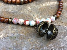 Meditation Inspired Mala Necklace to Help Bring Relaxation