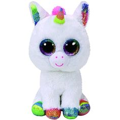 Ty Beanie Boo Pixy the Unicorn - Medium 9