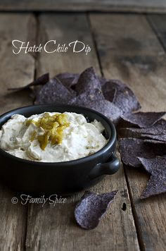 Hatch Chile Dip by familyspice.com @Laura | Family Spice