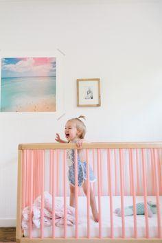 Em Scott's Vibrant Yet Minimal Nursery | theglitterguide.com #petitpehrdreamnursery @peh
