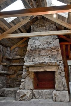 Rustic Fireplaces, Home Fireplace, Jade Mountain, A Frame Cabin, Cottage Plan, Mountain Homes, Green Building, Outdoor Rooms, Custom Homes
