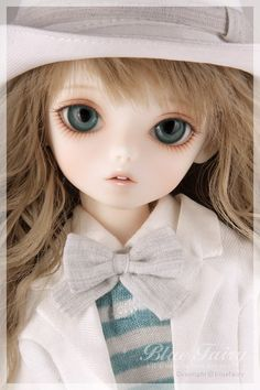 Blue Fairy Shiny Fairy Ball Jointed Doll (BJD) - Voyage May Angel Dolls BJD UK.