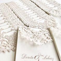Zaproszenia ślubne koronkowe » Strona 3 z 7 » BENDEA ARTLINE - zaproszenia ślubne Acrylic Wedding Invitations, Arrow Necklace, Jewelry, Instagram, Jewellery Making, Jewerly, Jewelery, Jewels, Jewlery