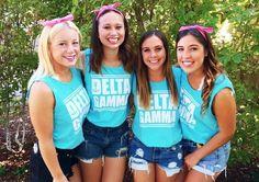Delta Gamma at University of California, Davis #DeltaGamma #DG #BidDay #chevron #sorority #Davis
