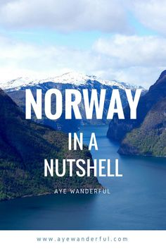 Norway in a Nutshell | Norwegian Fjords | Norway | Fjords | Flam | Stegastein Viewpoint | Read more on www.ayewanderful.com