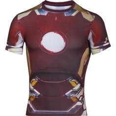 Pánské kompresní tričko Under Armour Alter Ego Iron Man Alter Ego 2b64d559665