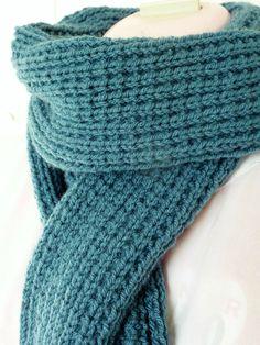 gabarit patron gratuit echarpe tricot   Scarf   Pinterest   Knitting ... d7a8cba9f00