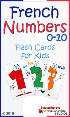 I think this is a great app for beginner-level French students, especially young children. With French Numbers 0 to 10 , children c...
