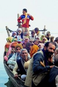 Crossing the River . India