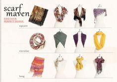 Types of Scarves