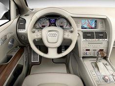 Audi Q7 Coastline Concept - Interior audi q7 coastline concept, special, white, pearl, effect, polar, region, brand, automotive, design, popular, trend