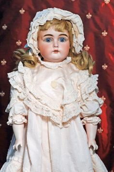 249 German Bisque Doll By Kestner Marks 15 147 On