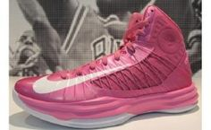 71861cb56a63 Nike Lunar Hyperdunk 2012 Kay Yow Think Pink Breast Cancer Awareness