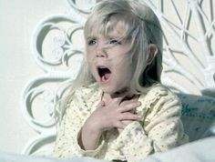 Heather O'Rourke as Carol Ann in Poltergeist (1982)-All time favorite scary movie as a kid!