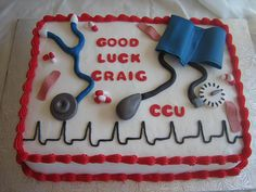 Medical Theme Cake