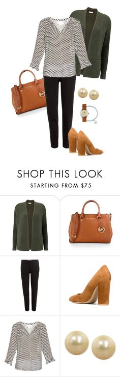 """Earth tones"" by marijime-paperdoll ❤ liked on Polyvore featuring Eastex, MICHAEL Michael Kors, Etro, Gianvito Rossi, Velvet by Graham & Spencer, Honora and J.Crew"