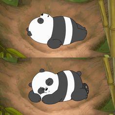 Tag someone who can sleep all day 🐼😴🖤 Bear Wallpaper, Cute Wallpaper Backgrounds, Cute Cartoon Wallpapers, Panda Love, Cute Panda, Pardo Panda Y Polar, Cartoon Network, Vanellope Y Ralph, Panda Funny
