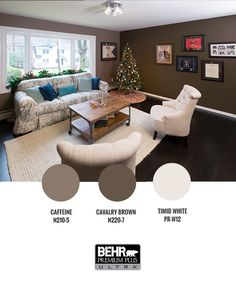 BEHR® is the perfect paint to stand up to excitement of holiday gatherings #LaughDancePartner
