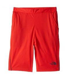 The North Face Kids Mak Shorts (Little Kids/Big Kids) (High Risk Red) Boy's Shorts