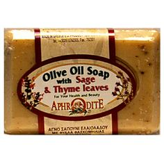 Greek Olive Oil Soaps. Aphrodite Natural Skin Care Products with Olive Oil imported from Greece