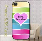 Funny Pink Heart Mrs Shawn Mendes Case for iPhone 5 / 5S - http://phones.goshoppins.com/phones-cases/funny-pink-heart-mrs-shawn-mendes-case-for-iphone-5-5s/