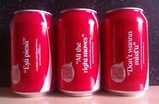 """(C)ROMANIAN EMPTY COCA-COLA, """"TELL HIM/HER WITH A SONG"""" EDITION, LIMITED, 1"""