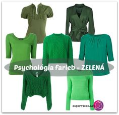 Psychológia farieb - zelená