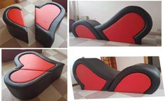 Why Furniture So Expensive Info: 3894489916 Diy Cardboard Furniture, Mod Furniture, Playroom Furniture, Diy Sofa, Diy Bed, Tantra, Tantric Chair, Love Chair, Red Rooms