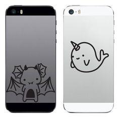 Tech Tattz Mystical Besties Narwhal and Dragon Vinyl Decal Sticker for Phone Tablet Laptop Squid http://www.amazon.com/dp/B00K7K2TTI/ref=cm_sw_r_pi_dp_8Uc-vb119E18Q