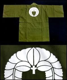 A Japanese hanten jacket, with fuji mon (wisteria crest).  So many beautiful things come from Japan.