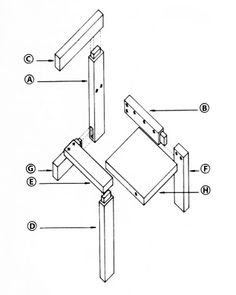 wave hill chair plans | Bronx, NY botanical gardens ...