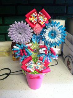 Bow bouquet!!