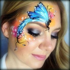 Lisa Joy Young - sitting fairy face painting