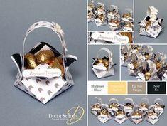 Djudi'Scrap Stampin'Up! - Tutoriel Petits Paniers de Pâques Stampin Up, Packing Wrap, Tip Top, Treat Bags, Box Packaging, Little Gifts, Mini Albums, Favors, Paper Crafts