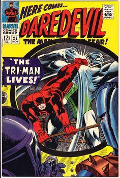 Daredevil 22 Matt Murdock comic #comicbook Marvel Comics Silver Age1966 in VF
