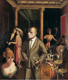 Otto Dix, To Beauty (An die Schönheit) (detail), 1922