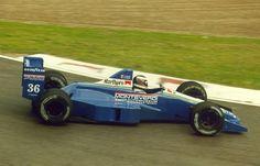 Swiss Peter Monteverdi bought Onyx - Moneytron F1 team in 1990. One of the F1 cars was driven by Swiss pilot Gregor Foitek