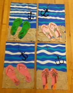 flip flop art project - Yahoo Image Search Results