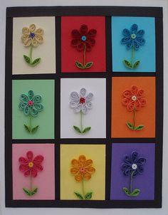 Handmade quilling card   Handmade birthday card, made from q…   Flickr