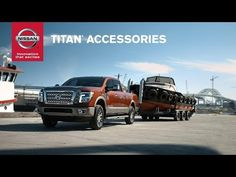 2016 Nissan TITAN Accessories: Work and play hard with Genuine Nissan TITAN Accessories! - YouTube