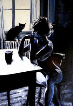 le chat noir.