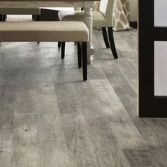Waterproof Laminate Flooring, White Laminate, Plank Flooring, Vinyl Flooring, Vinyl Planks, Mannington Adura, Kitchen Surface, White Oak