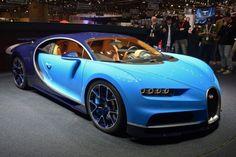 1500-сильный Bugatti Chiron дебютировал на Женевском автосалоне
