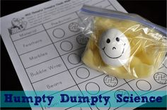 Humpty Dumpty Science
