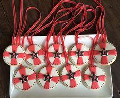 American Ninja Warrior Medal Cookies  on Cake Central