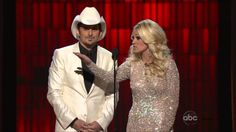 "Brad Paisley & Carrie Underwood - ""Opening the CMA Awards 2012 show"""
